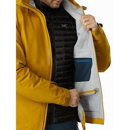 Cassiar Jacket Midnight Sun Removable Powder Skirt