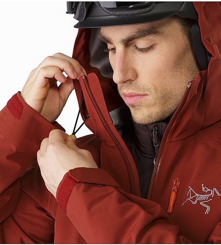 Cassiar Jacket Pompeii Hood Adjuster