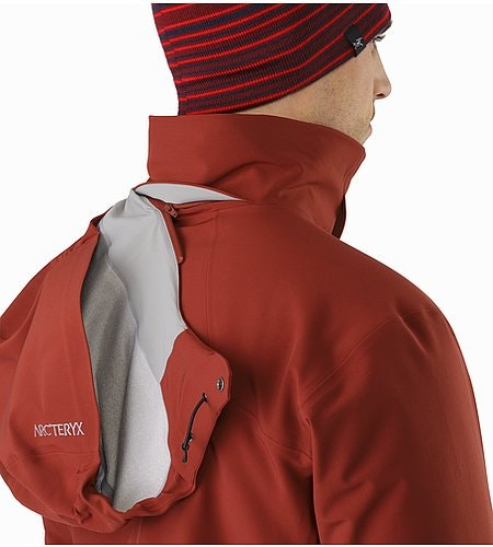 Cassiar Jacket Pompeii Removable Hood