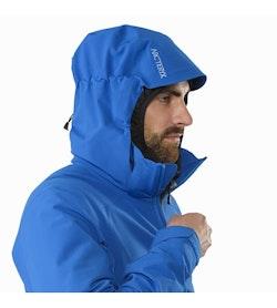 Cassiar Jacket Stellar Hood Front View