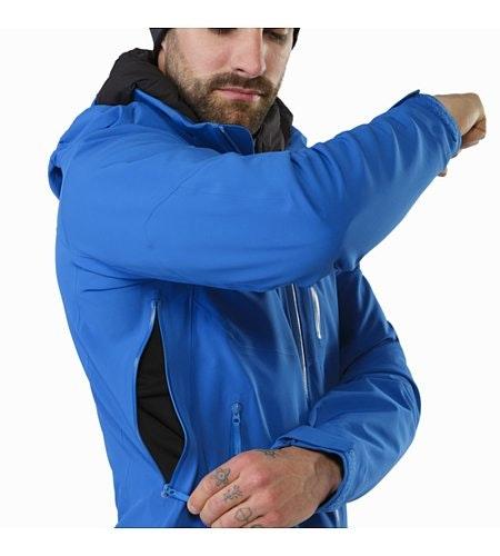 Cassiar Jacket Stellar Unterarmreißverschluss