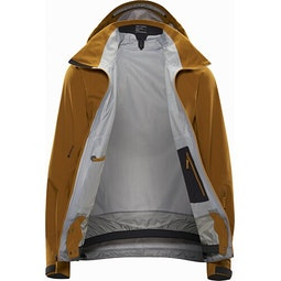 Cassiar LT Jacket Yukon Internal View
