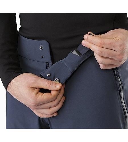 Cassiar Pant Nighthawk Reißverschluss mit Druckknöpfen