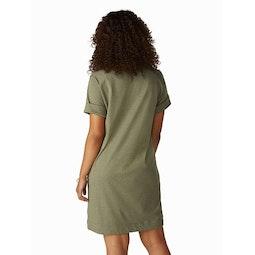 Cela Dress Women's Taxus Heather Back View