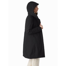 Centrale Parka Women's Black Side View