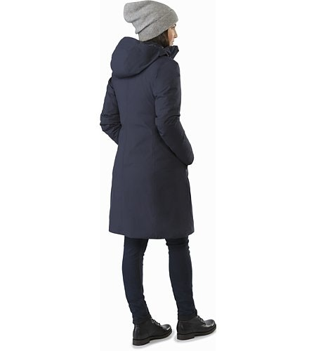 Centrale Parka Women's Kingfisher Back View
