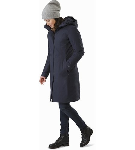 Centrale Parka Women's Kingfisher Front View