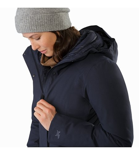 Centrale Parka Women's Kingfisher Internal Collar