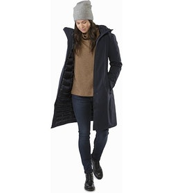 Centrale Parka Women's Kingfisher Open View