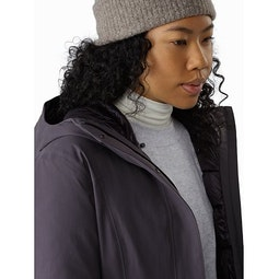 Centrale Parka Women's Whiskey Jack Internal Collar