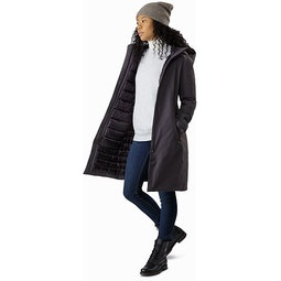 Centrale Parka Women's Whiskey Jack Open View
