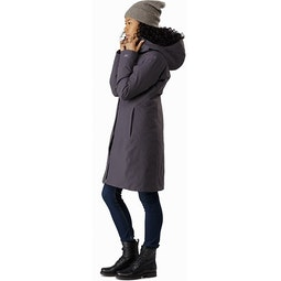 Centrale Parka Women's Whiskey Jack Side View