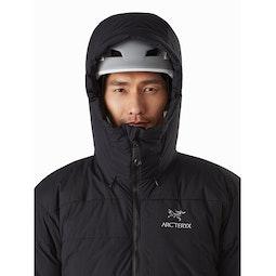 Ceres SV Parka Black Helmet Compatible Hood