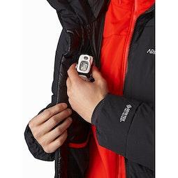 Ceres SV Parka Black Internal Security Pocket