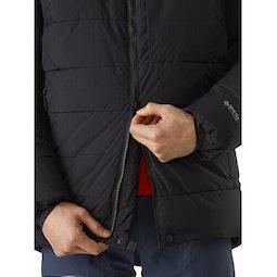 Ceres SV Parka Black Two Way Zipper