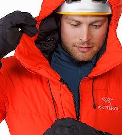 Ceres SV Parka Magma Hood Adjuster