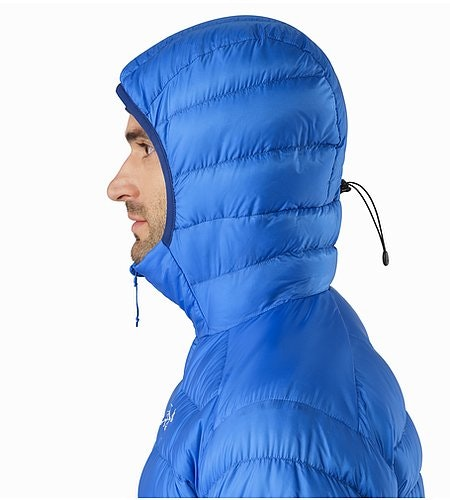 Cerium LT Hoody Rigel Hood Side View