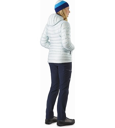 Cerium LT Hoody Women's Dew Drop Back View 2