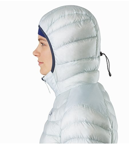 Cerium LT Hoody Women's Dew Drop Hood Side View 2