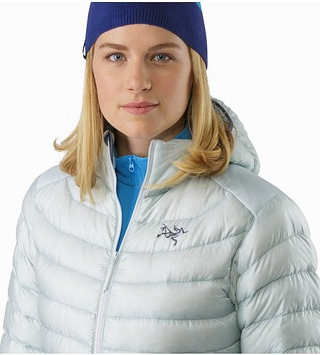 Cerium LT Hoody Women's Dew Drop Open Collar 2