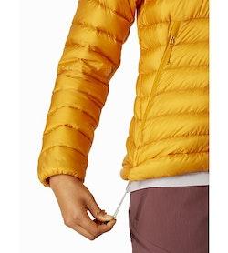 Veste à capuche Cerium LT Femme Quantum Cordon de serrage sur l'ourlet