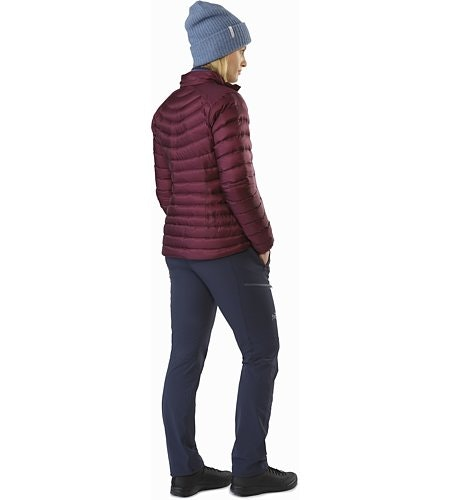Cerium LT Jacket Women's Crimson Back View