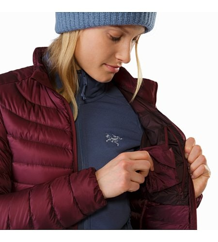 Cerium LT Jacket Women's Crimson Internal Seucrity Pocket