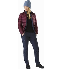 Cerium LT Jacket Women's Crimson Open View