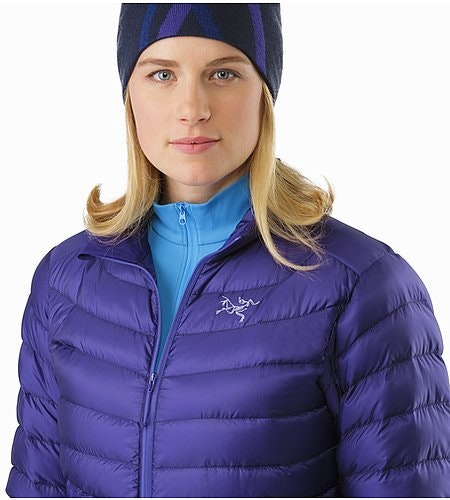 Cerium LT Jacket Women's Dahlia Open Collar 2