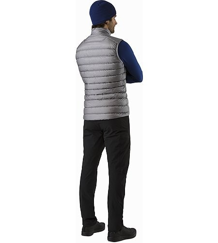 Cerium LT Vest Smoke Back View