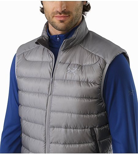 Cerium LT Vest Smoke Open Collar