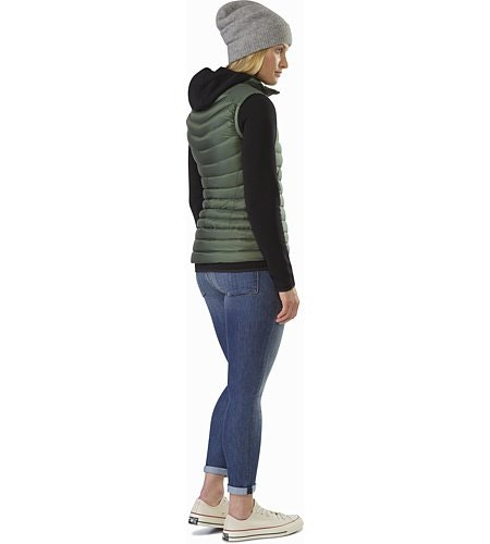 Cerium LT Vest Women's Shorepine Back View