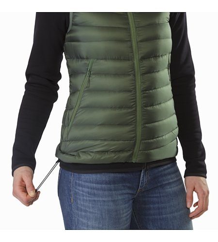 Cerium LT Vest Women's Shorepine Hem Adjuster