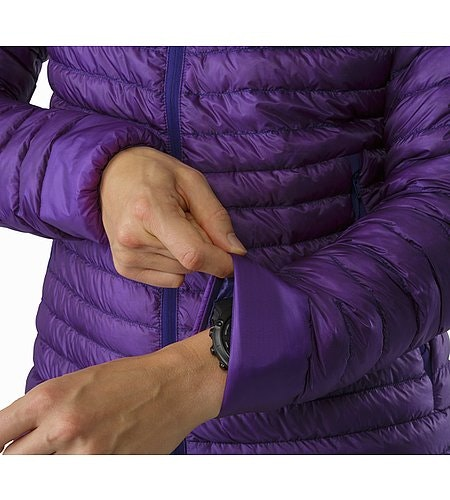 Cerium SL Hoody Women's Mauveine Stretch Cuffs