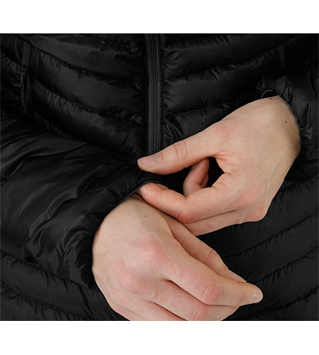 Cerium SL Jacket Black Cuff