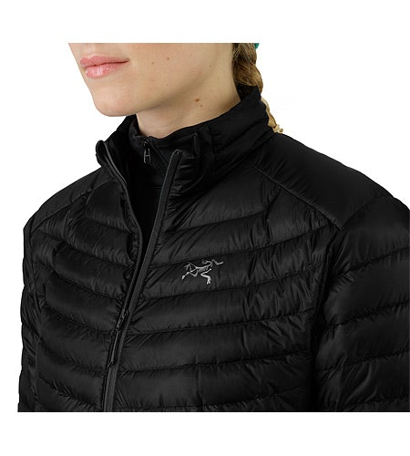 Cerium SL Jacket Black Front Zipper