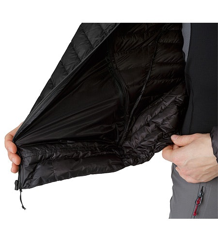 Cerium SL Jacket Black Hem Adjuster