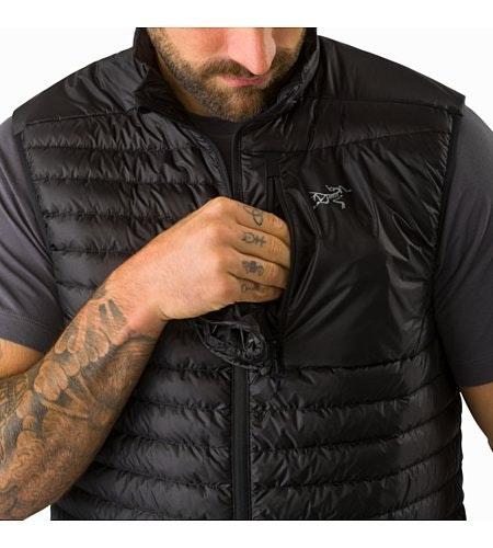 Cerium SL Vest Black Chest Pocket