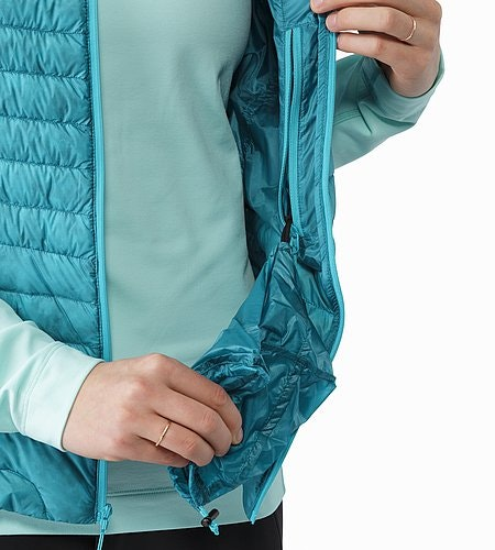 Cerium SL Vest Women's Cerulean Internal Pocket