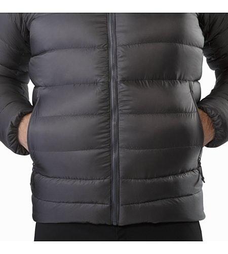 Manteau à capuchon Cerium SV Pilot Poches repose-mains