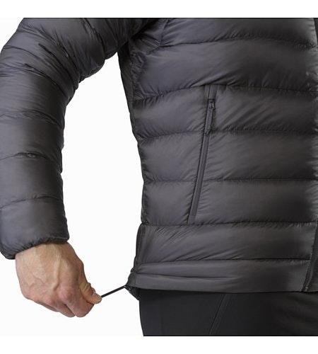Manteau à capuchon Cerium SV Pilot Cordon de serrage sur l'ourlet
