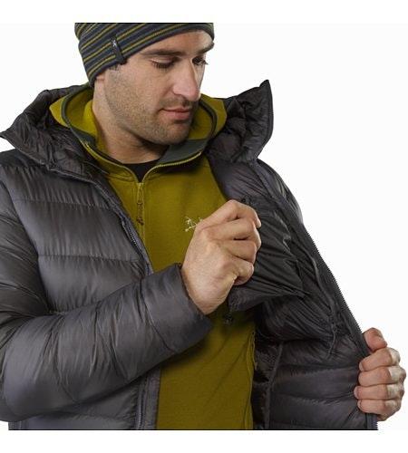 Manteau à capuchon Cerium SV Pilot Poche de sécurité intérieure