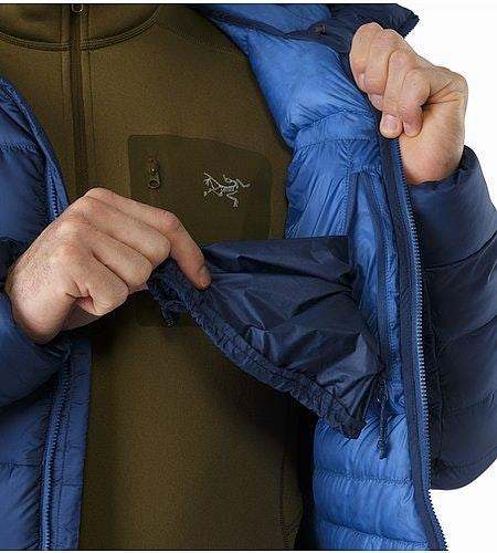 Veste à capuche Cerium SV Triton Poche intérieure