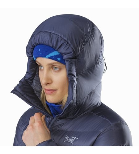 Cerium SV Hoody Women's Nightshadow Hood Up
