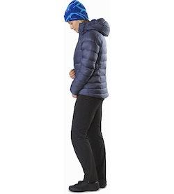 Manteau à capuchon Cerium SV Femme Nightshadow Vue de profil