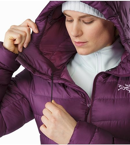 Cerium SV Hoody Women's Purple Reign Hood Adjuster 2