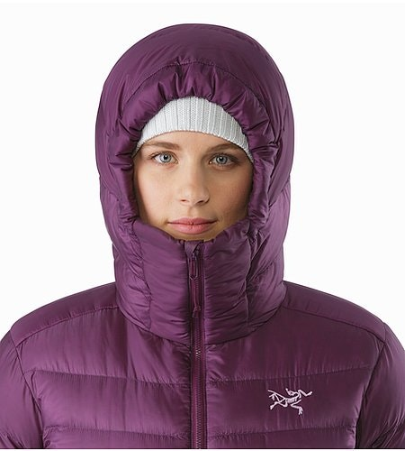 Cerium SV Hoody Women's Purple Reign Hood Front View 2