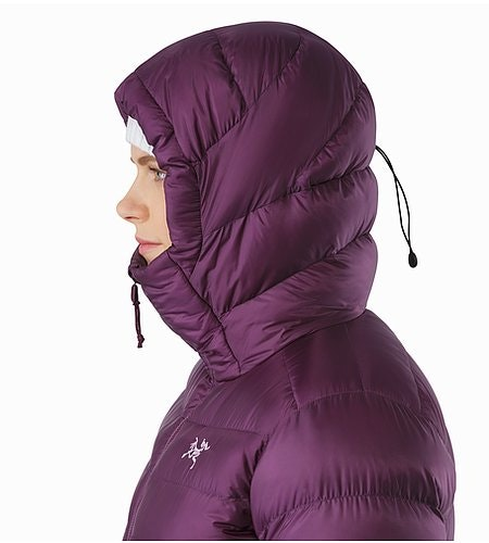 Cerium SV Hoody Women's Purple Reign Hood Side View 2