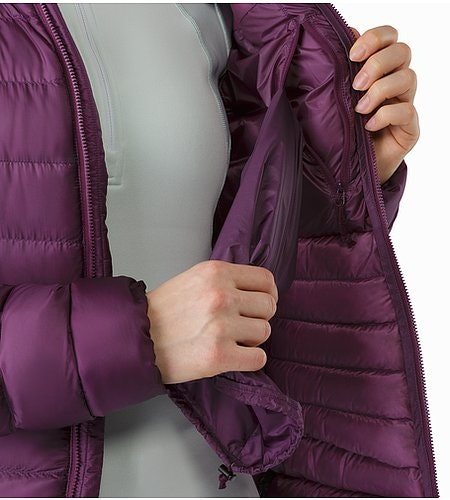 Cerium SV Hoody Women's Purple Reign Internal Pocket 2
