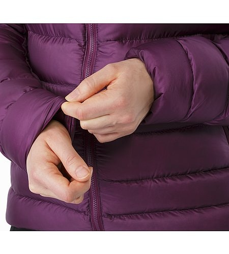 Cerium SV Hoody Women's Purple Reign Stretch Cuffs 2